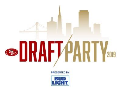 Don't Miss the 49ers 2019 Draft Party!