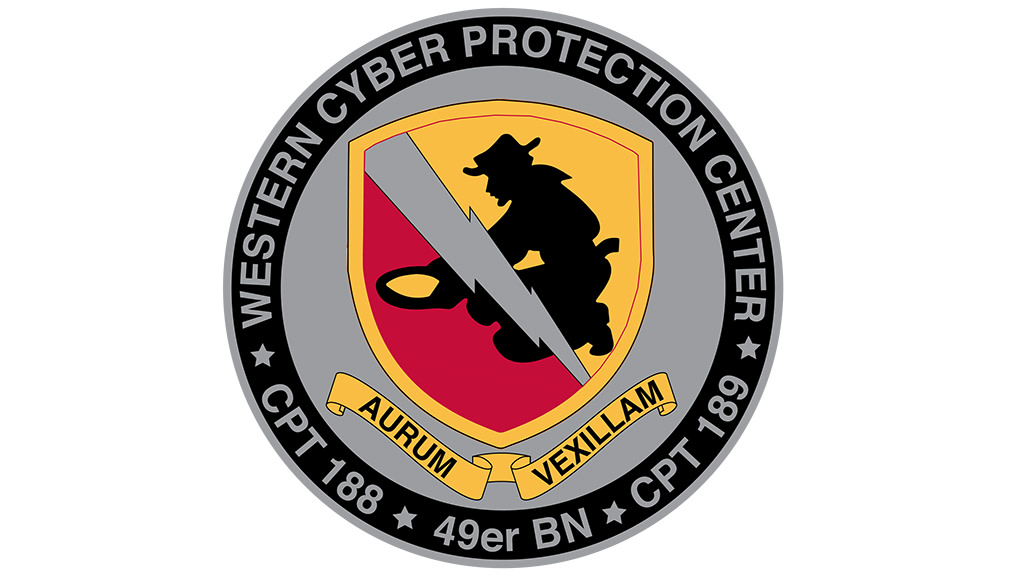"Western Cyber Protection Center ""49er Battalion"" Color Guard"
