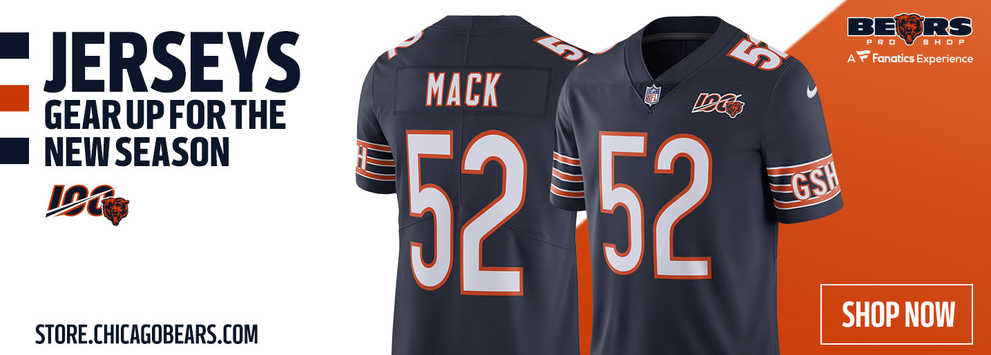 newest 79e47 a9539 ChicagoBears.com | The Official Website of the Chicago Bears