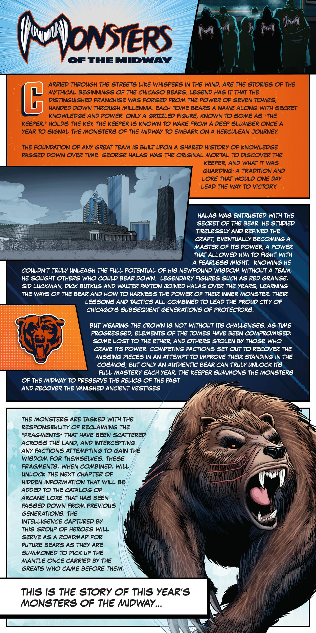 49bdec61 Monsters of the Midway 2018 | Chicago Bears Official Website