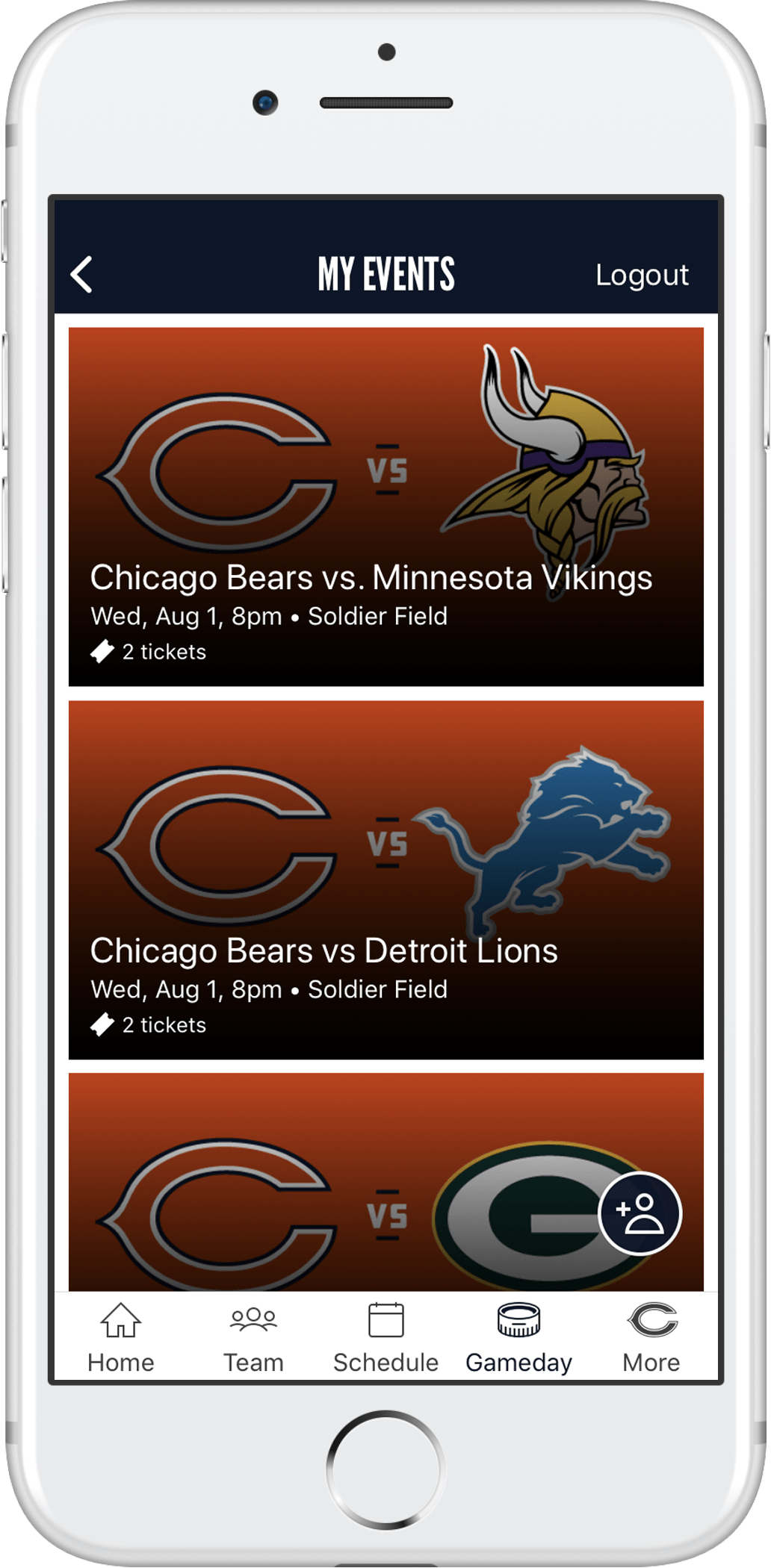 student discount chicago bears tickets