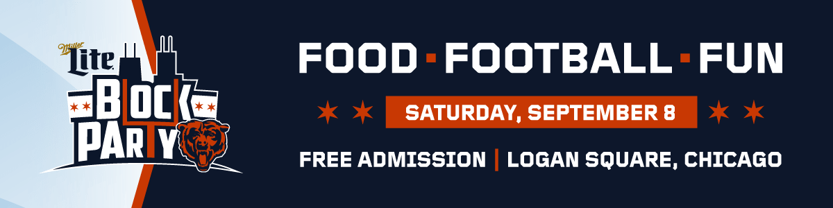 Block Party | Chicago Bears Official Website