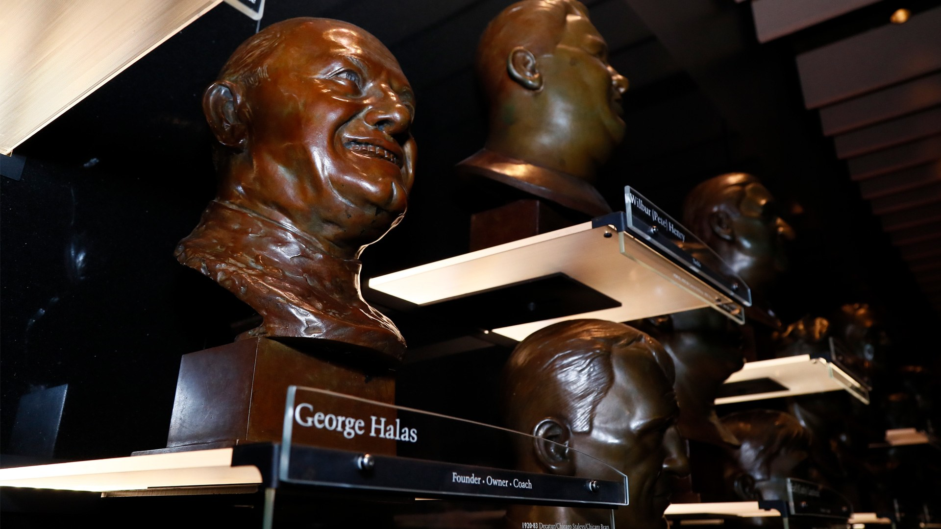 Hall of Fame Busts