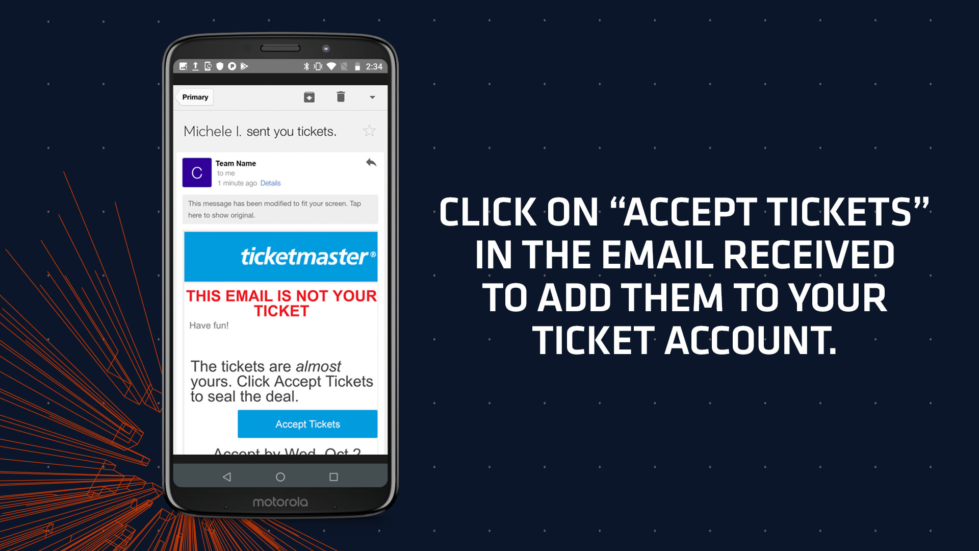 Mobile Ticket Guide | Chicago Bears Official Website