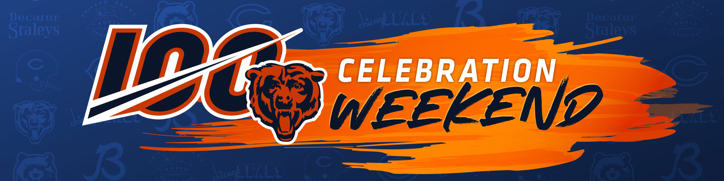 info for 3cacc 6119a Bears100 Celebration Weekend | Chicago Bears Official Website