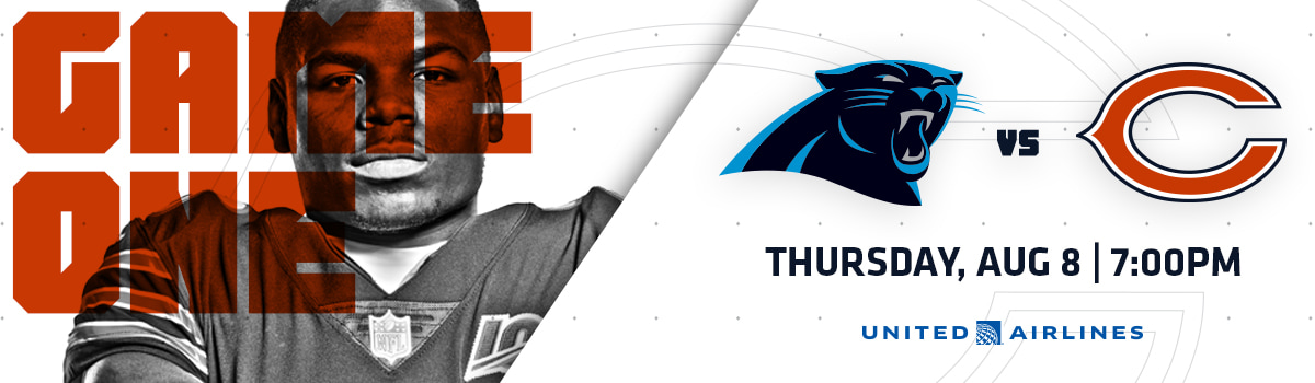 Coming to the Game - Bears vs. Panthers   Chicago Bears Official Website