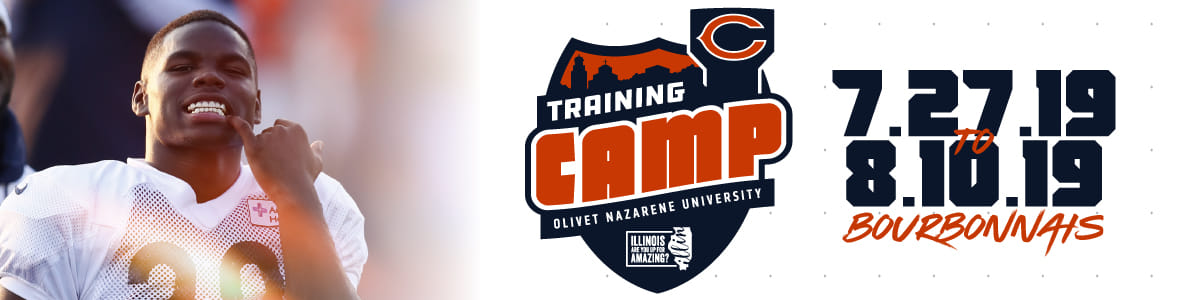 best authentic f7715 a2a0d Training Camp | Chicago Bears Official Website