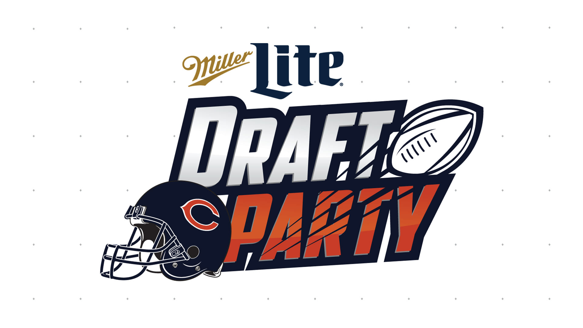 Miller Lite Chicago Bears Draft Party