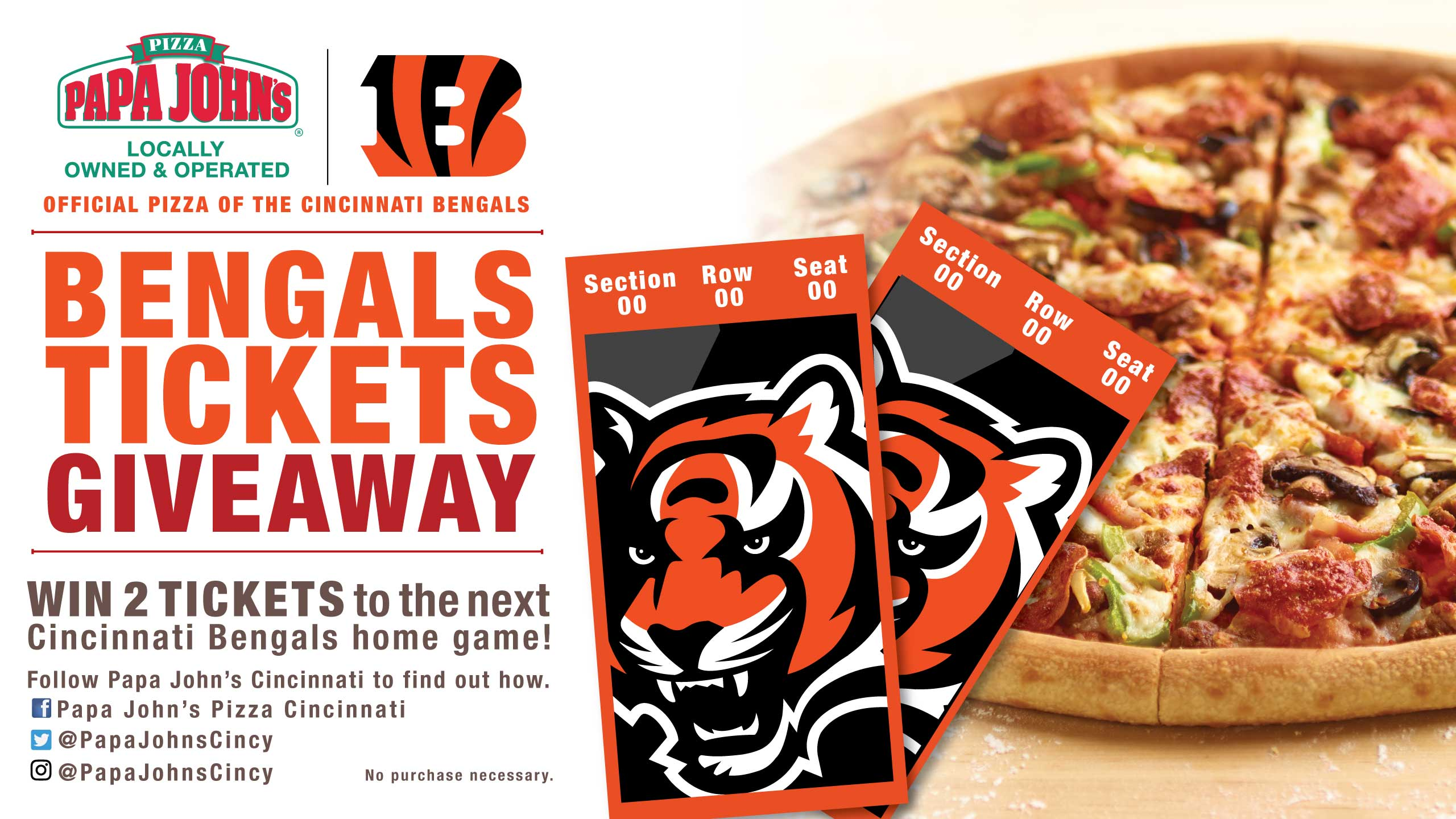 Papa John's Ticket Giveaway