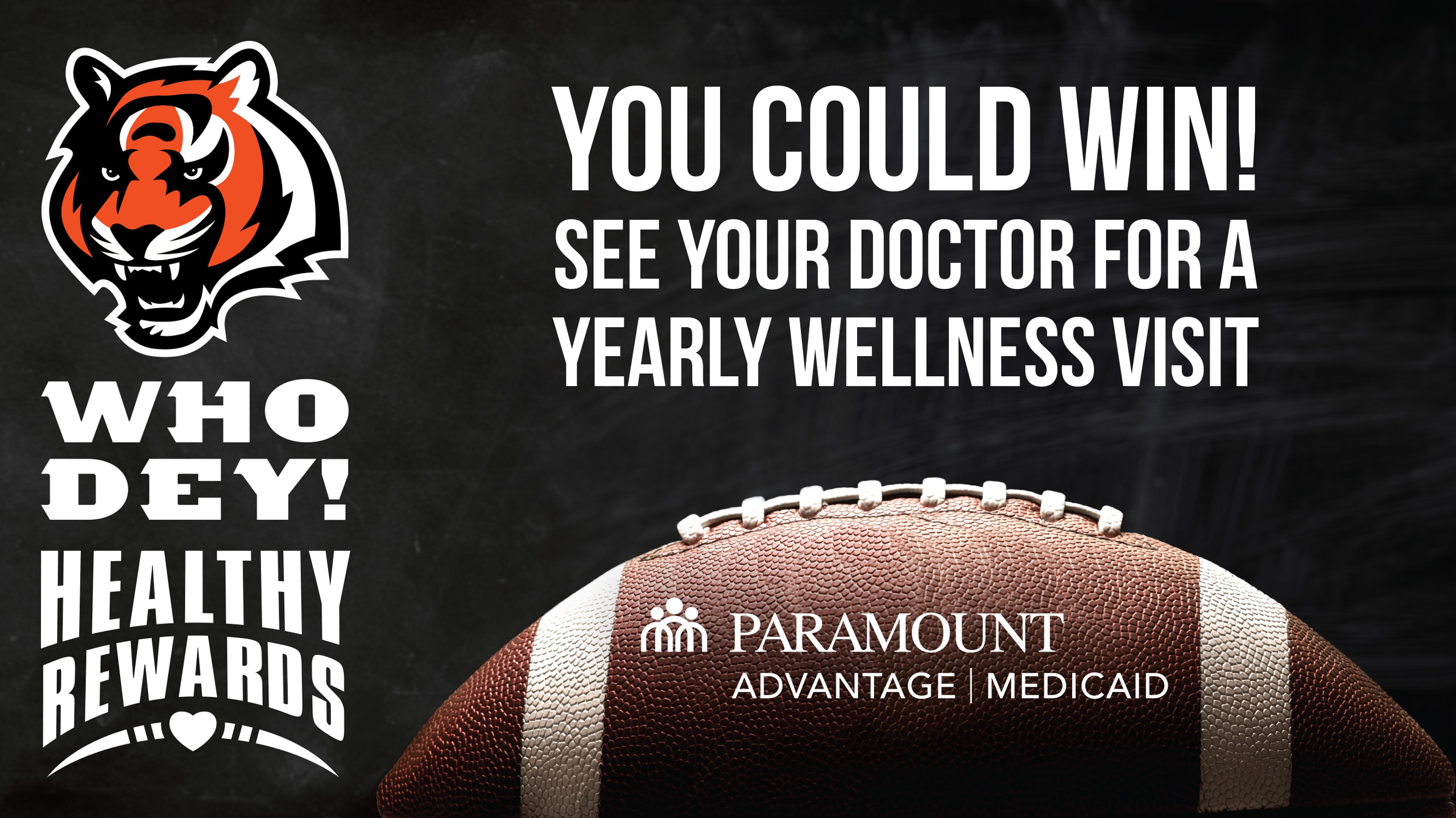 Paramount Advantage - Who Dey Healthy Rewards