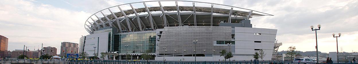 cincinnati bengals stadium paul brown stadium bengals com