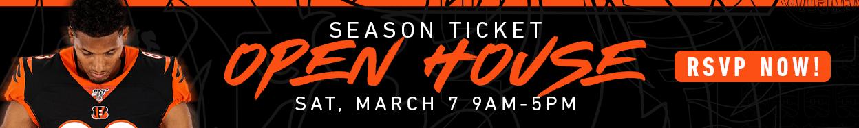 Season Ticket Open House