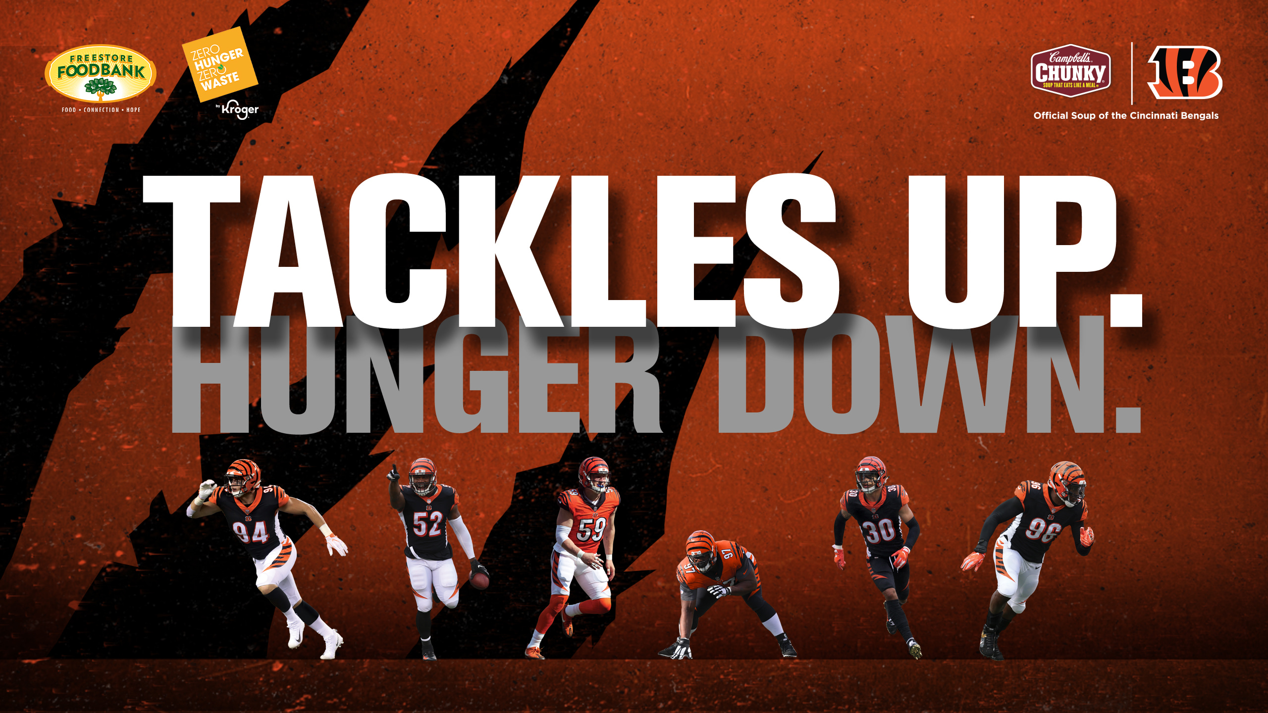 Campbell's Tackle Hunger Campaign