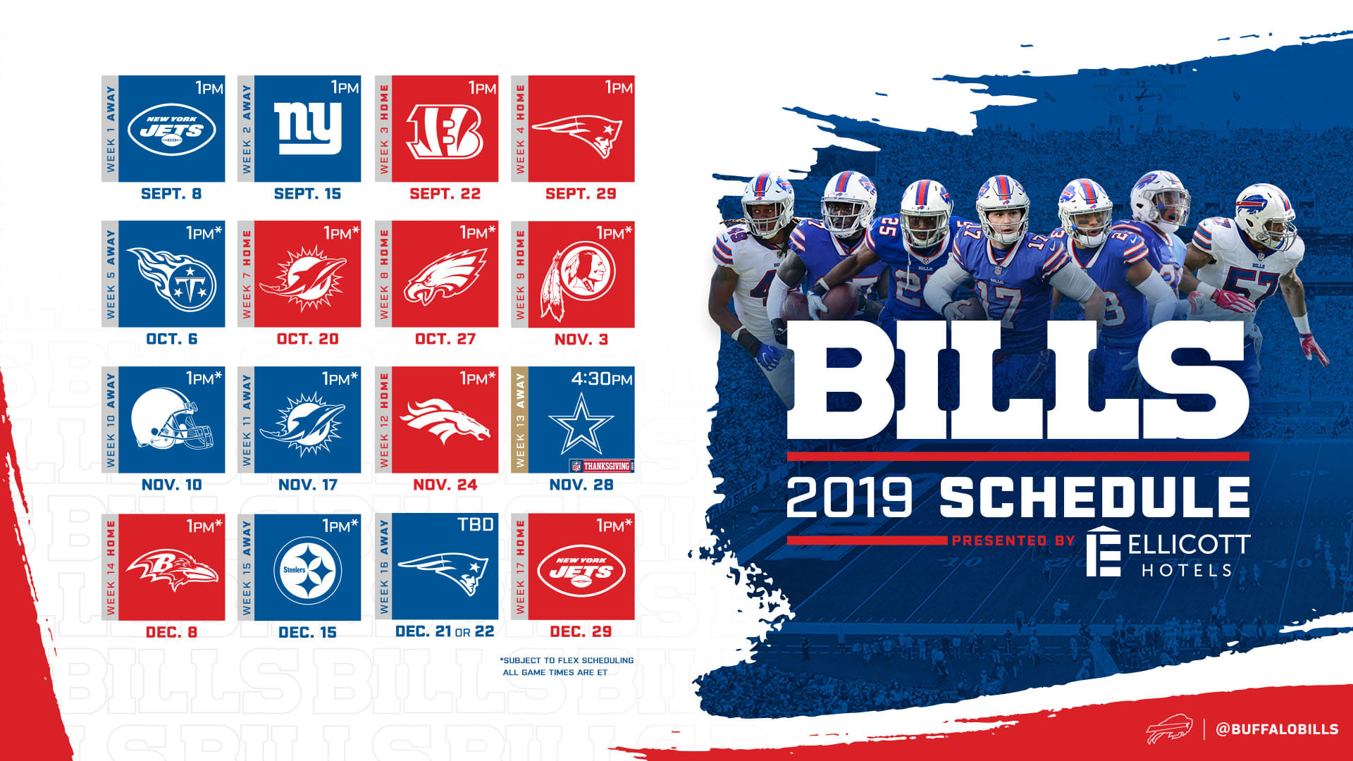 ae9f6c41 Buffalo Bills Wallpapers | Buffalo Bills - buffalobills.com