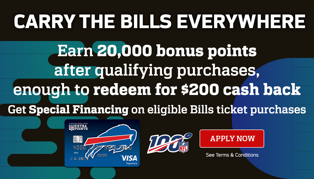 Bills Extra Points Credit Card