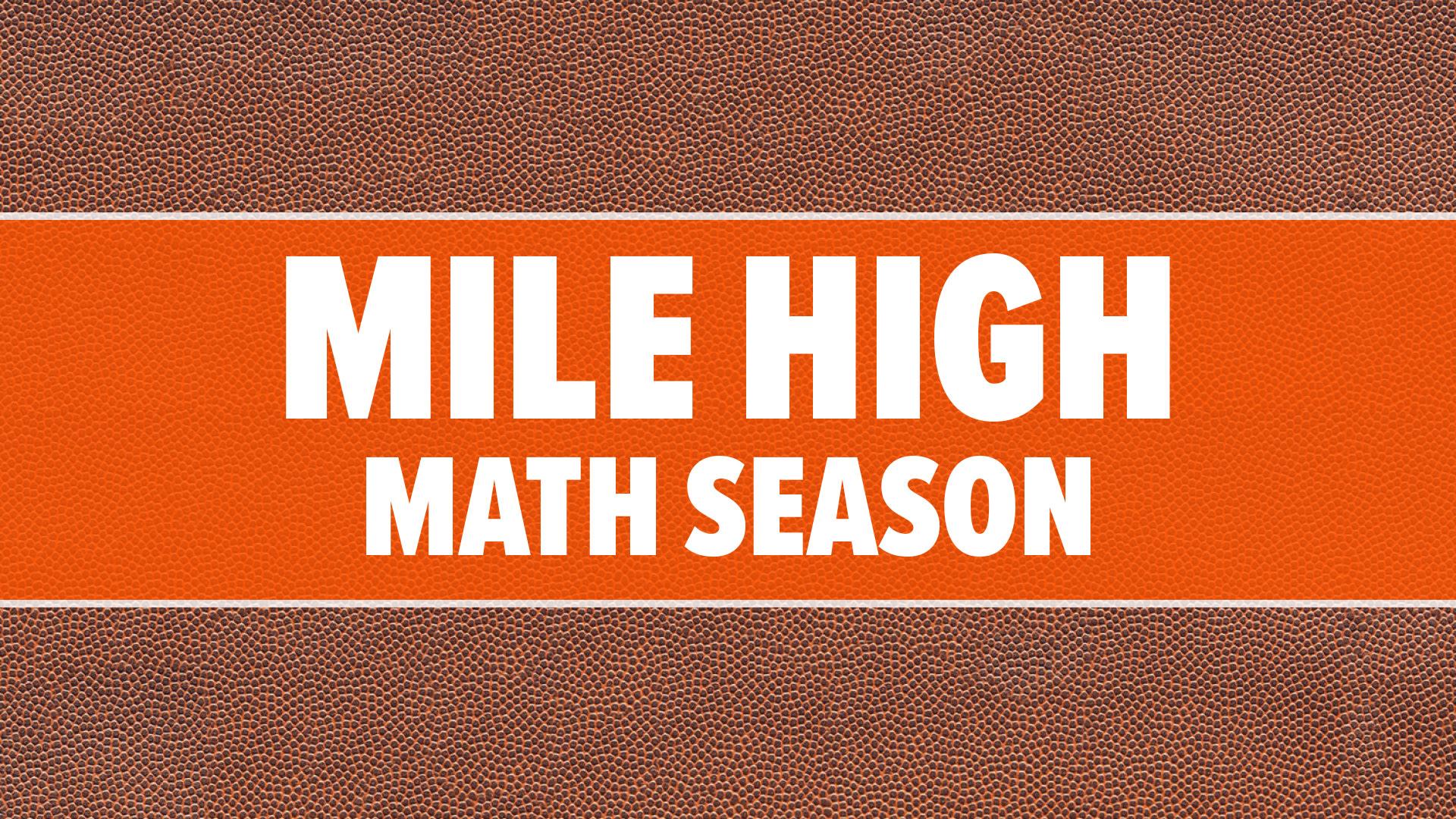 Mile High Math Season