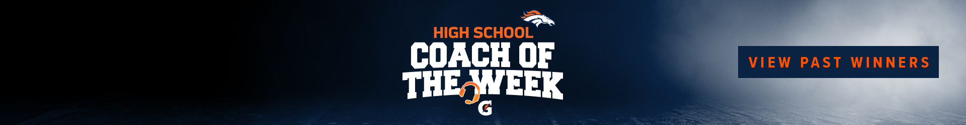 High School Coach of the Week