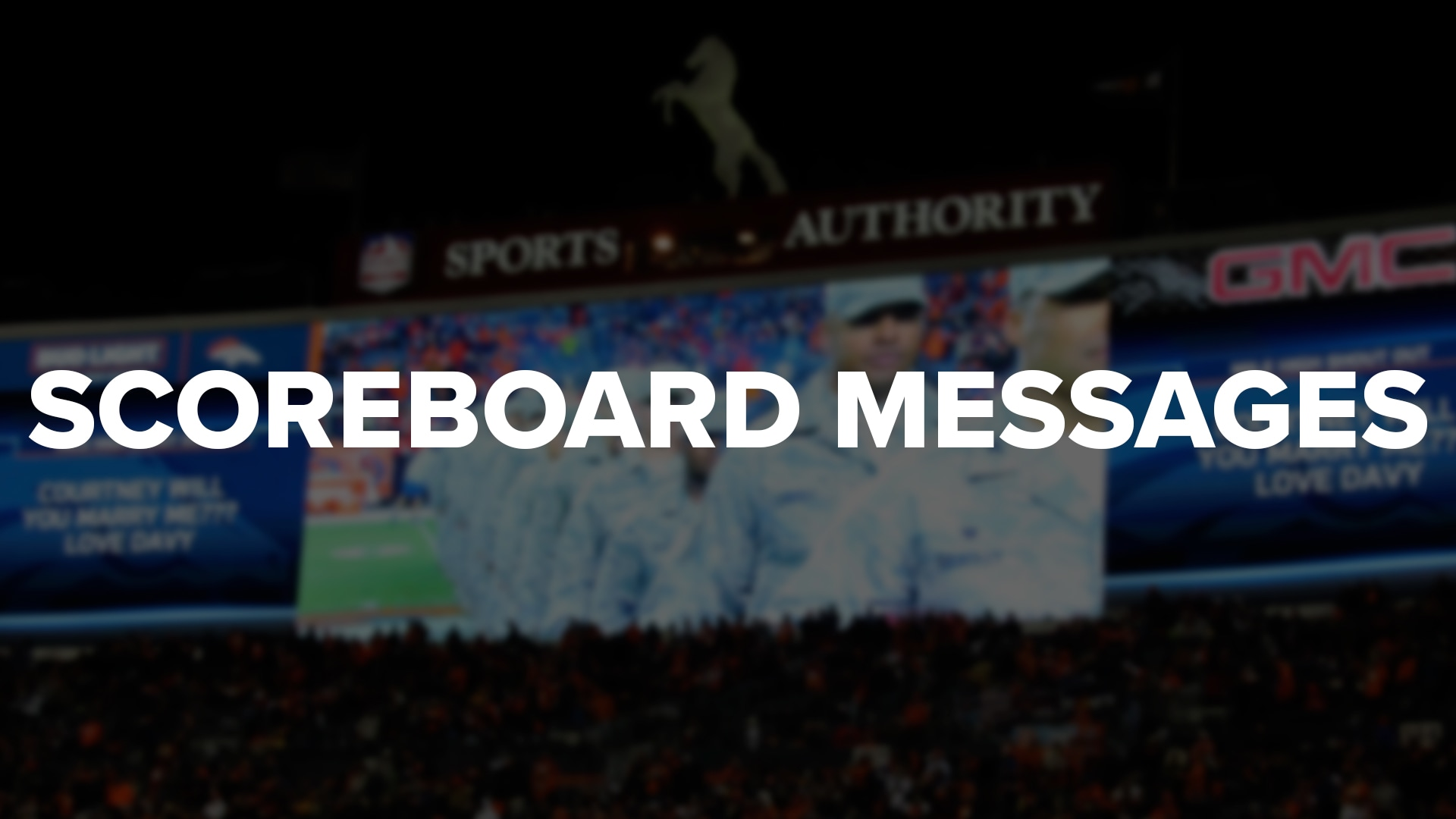 Scoreboard Message Requests