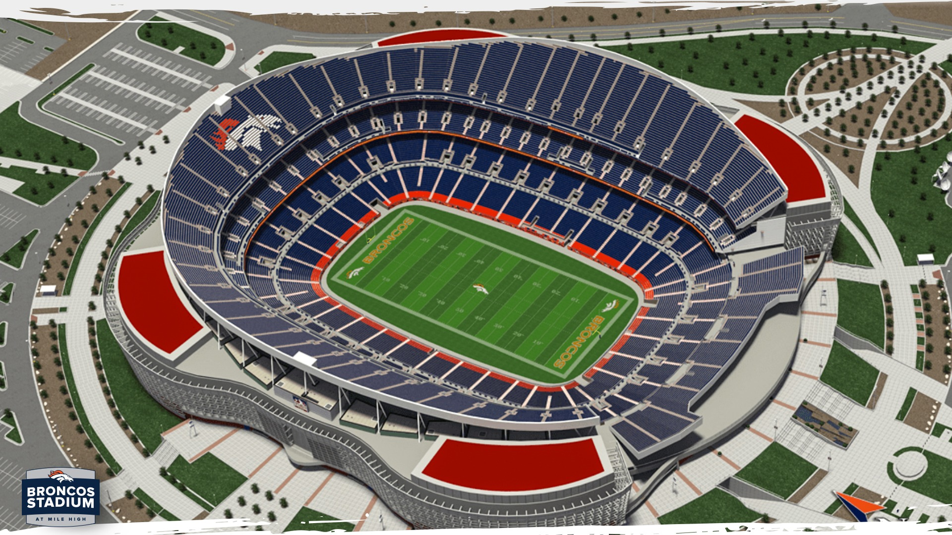 Denver Broncos Broncos Stadium At Mile High