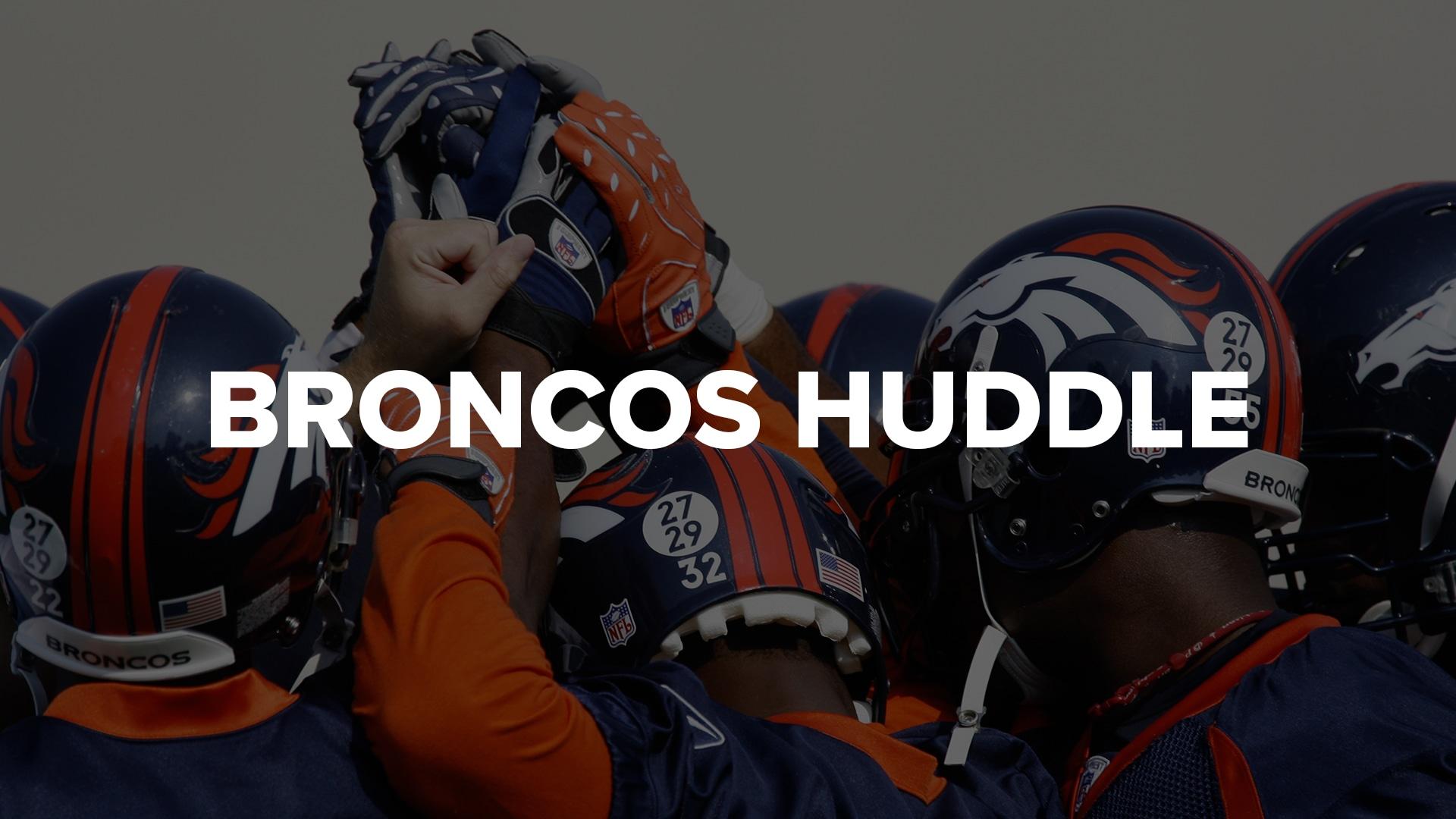 Broncos Huddle