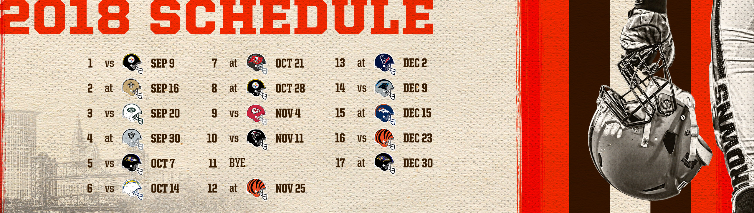 Browns schedule cleveland browns clevelandbrowns publicscrutiny Image collections
