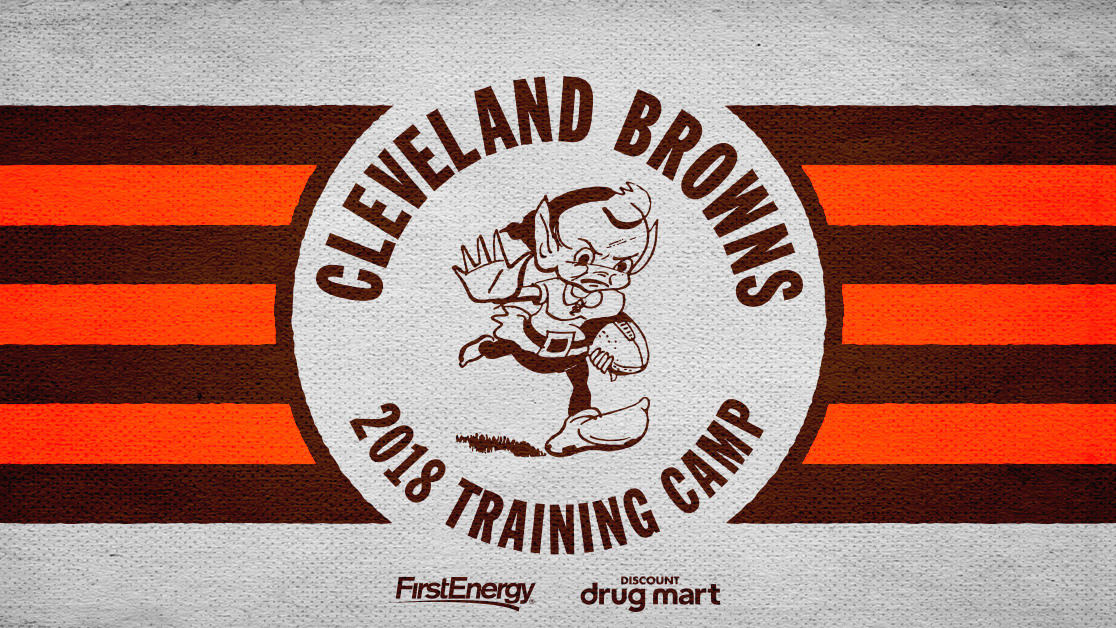 Browns 2018 Training Camp  2739aa71d