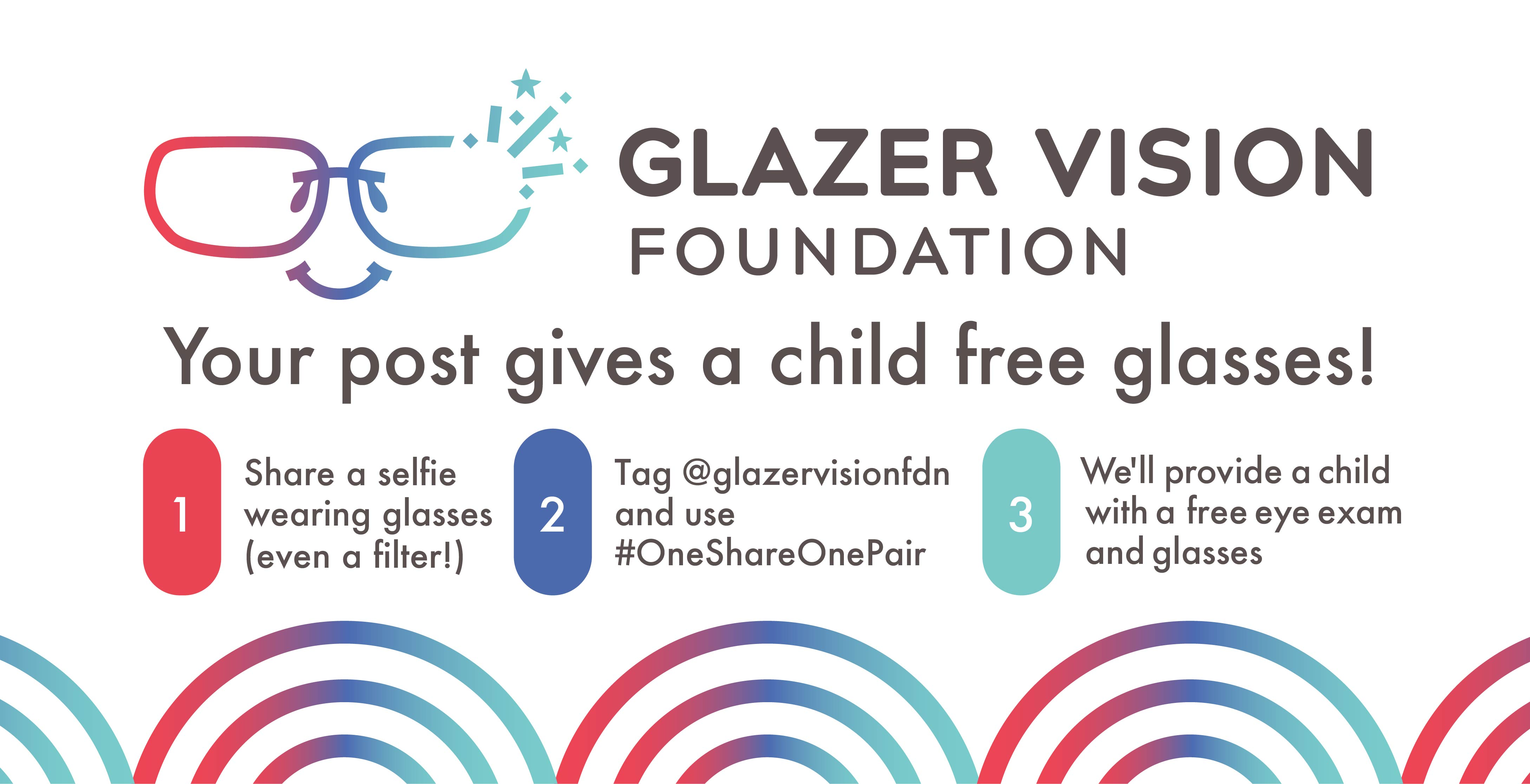 Your post gives a child free glasses