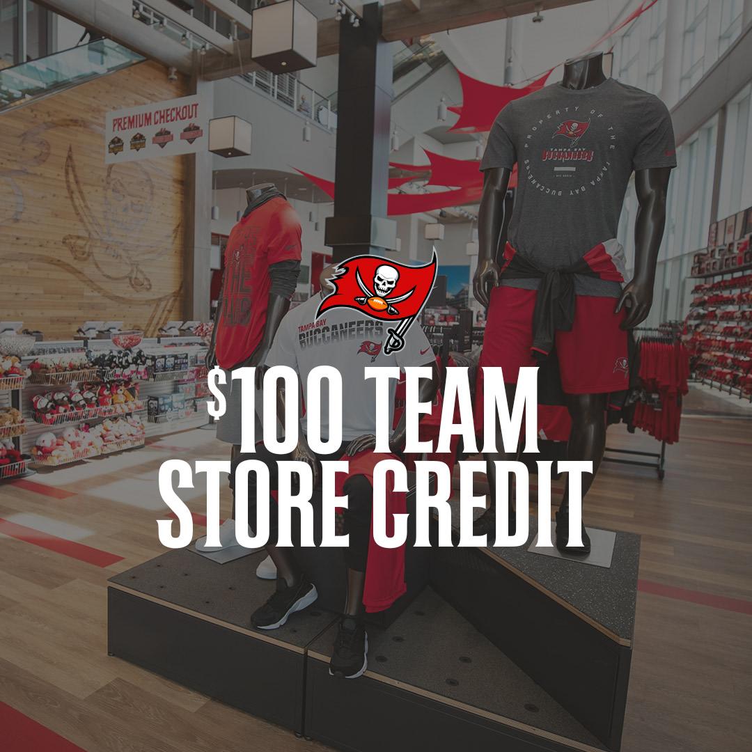 $100 Team Store Credit