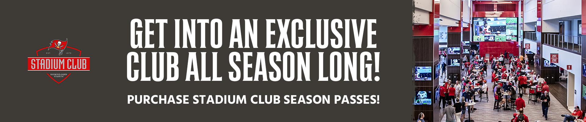 Stadium Club Season Passes
