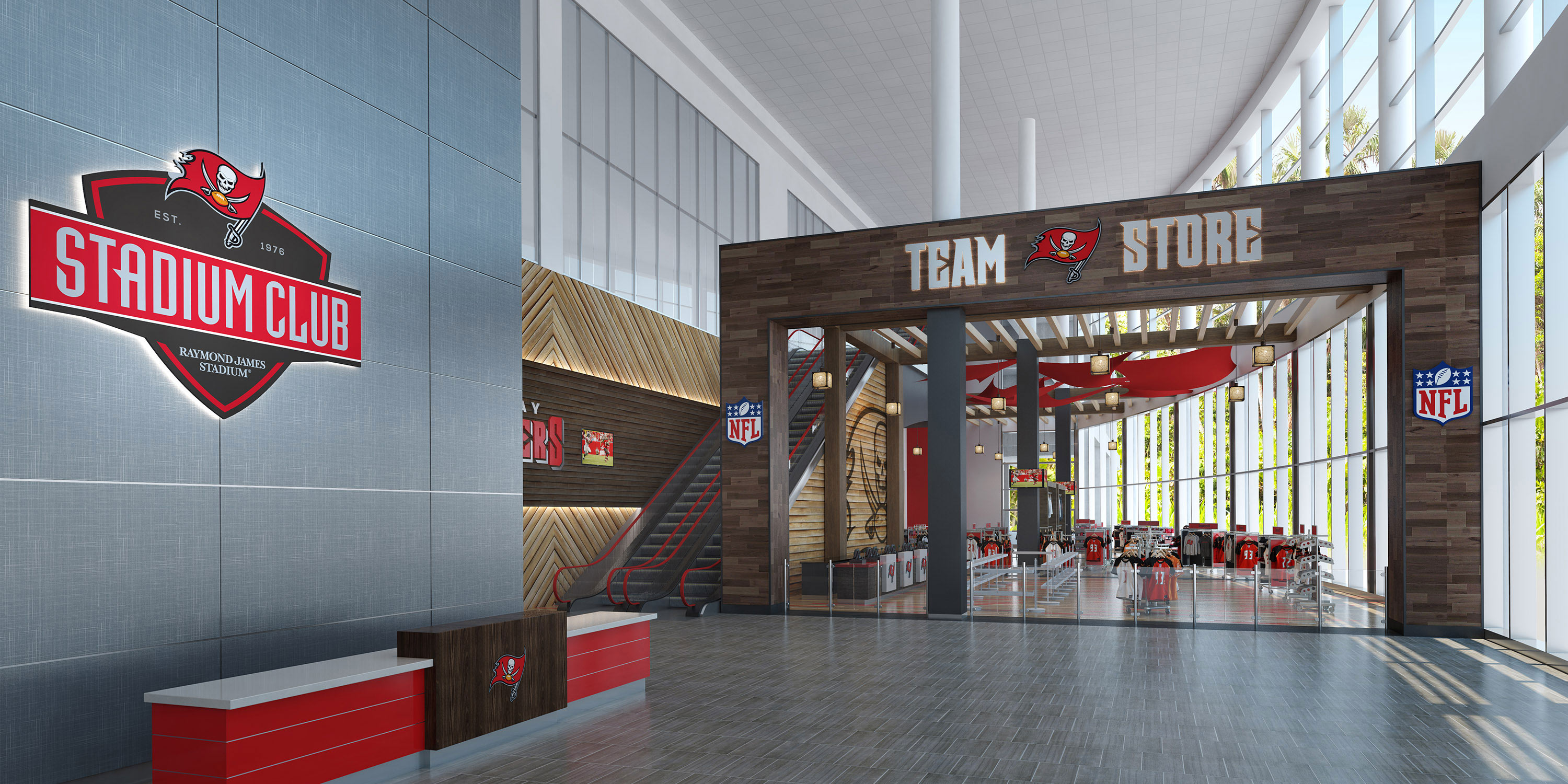 Welcome to the West Stadium Club at Raymond James Stadium. It exudes  exclusivity and luxury – if you haven t experienced it yet b98640e35f9