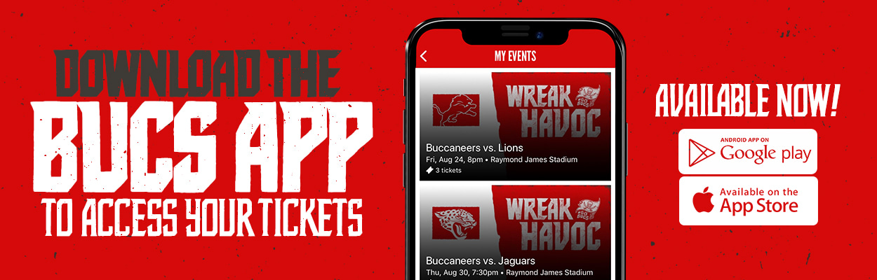 Download the Buccaneers App