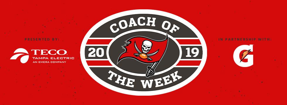 High School Coach of the Week