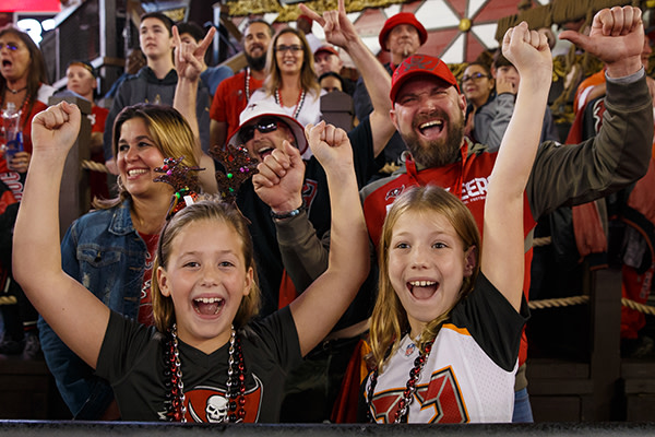 Buccaneers Family 4 Pack