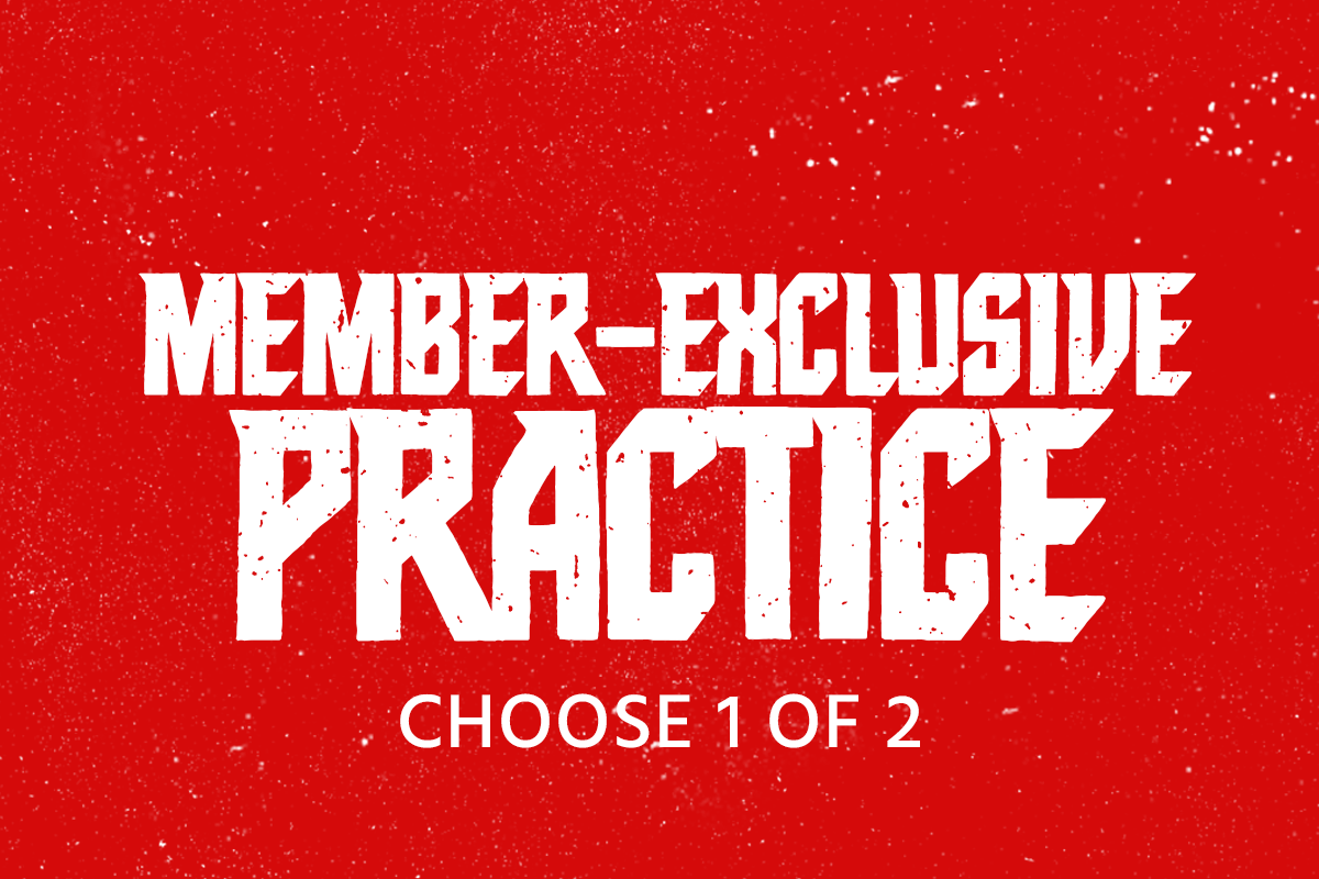 KREWE MEMBERS HAVE THE OPTION TO CHOOSE ONE OF THE FOLLOWING KREWE MEMBER-EXCLUSIVE PRACTICES