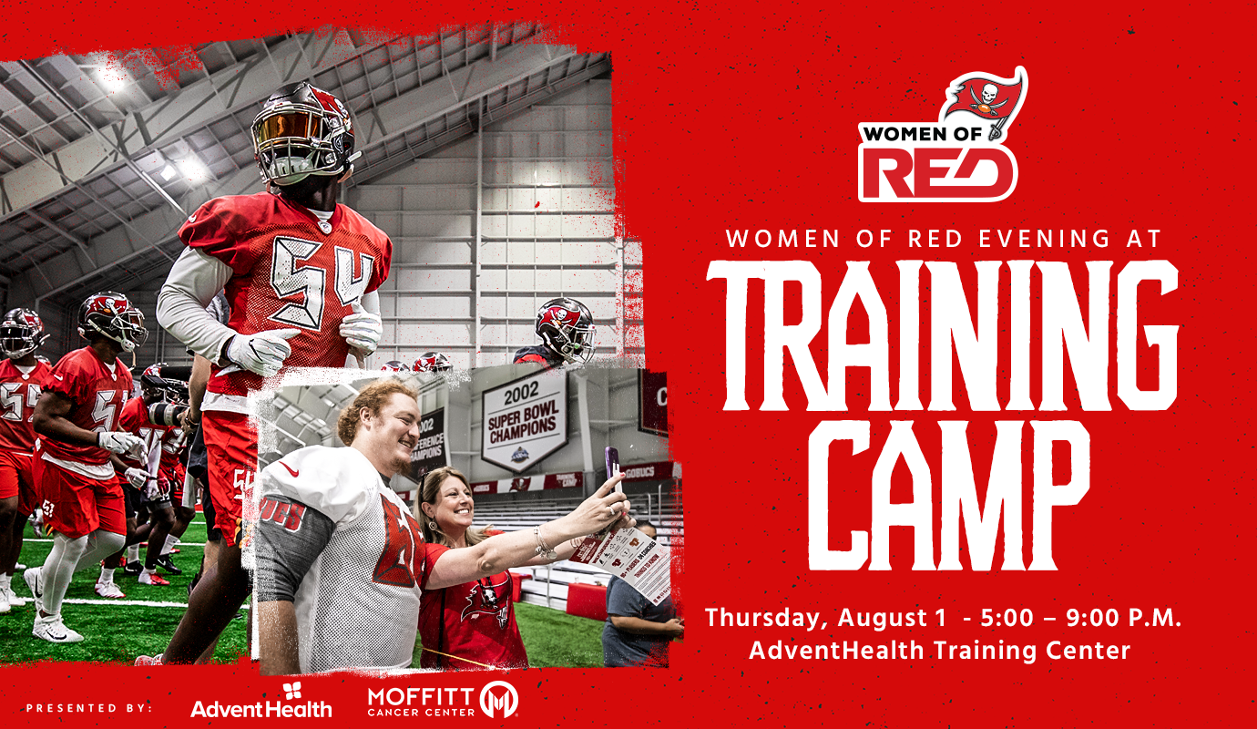 ad4028fb1 Join fellow female fans for an evening at Buccaneers Training Camp!