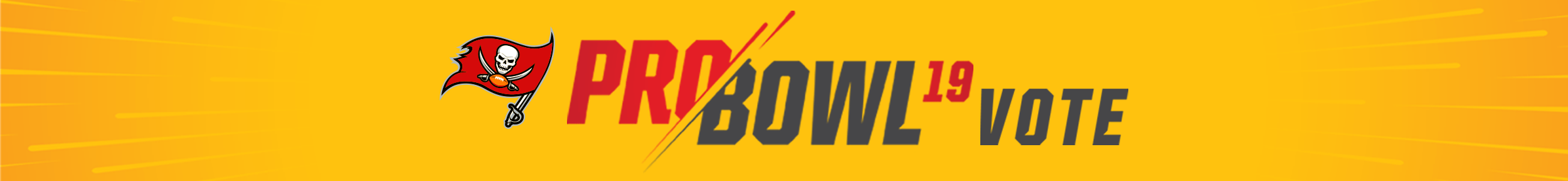Vote your favorite Buccaneers into the Pro Bowl!