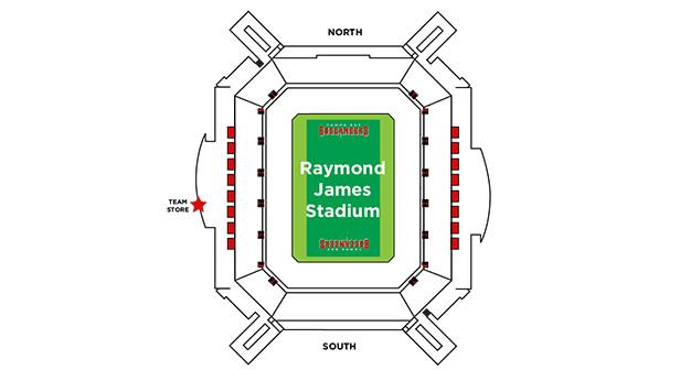Tampa Bay Buccaneers Team Store bb2d3b7168c