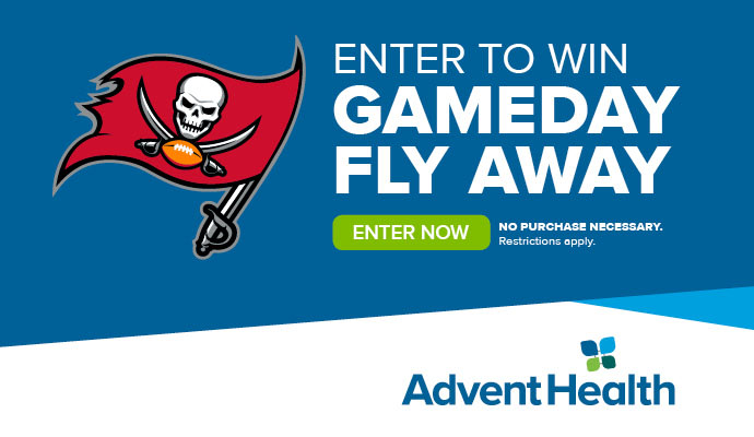 AdventHealth Gameday Fly Away
