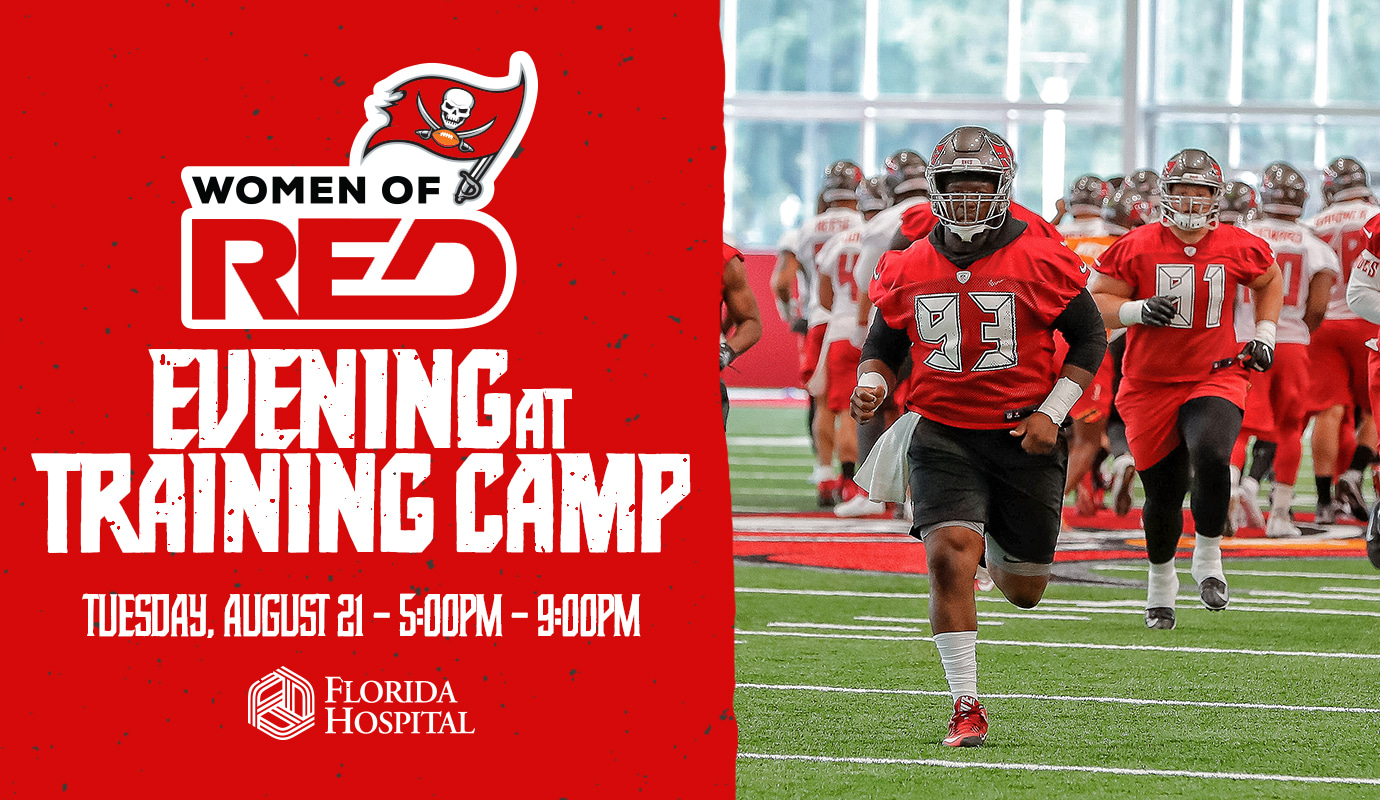 Go Behind-The-Scenes at Women of Red Evening at Training Camp!