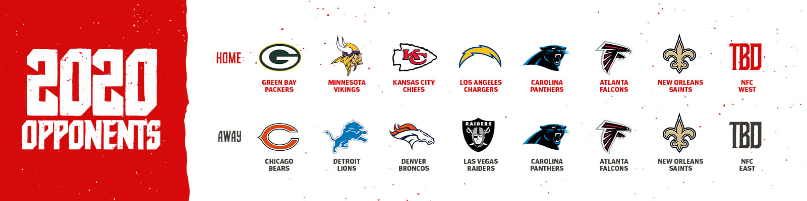 Lions Schedule 2020.Tampa Bay Buccaneers Future Opponents