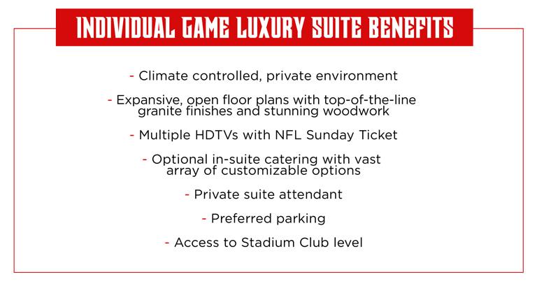 Suite Benefits