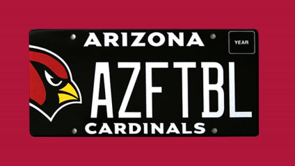 Cardinals License Plates