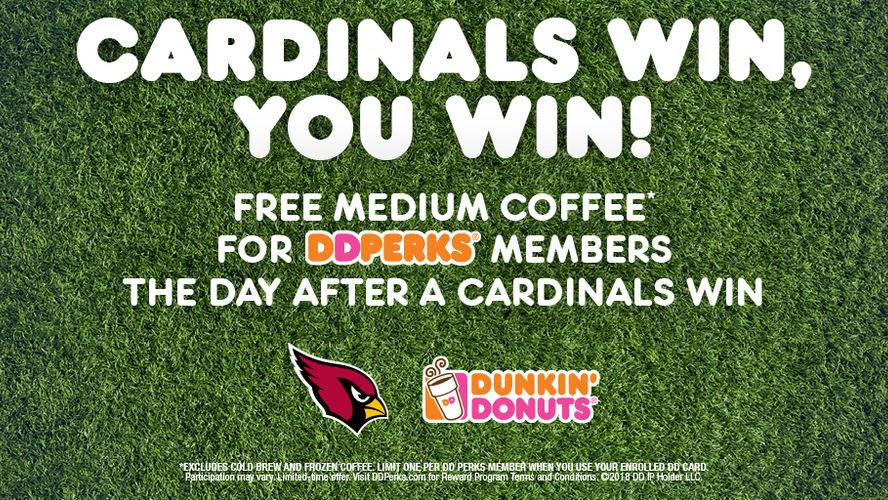 Dunkin' Donuts Free Medium Coffee