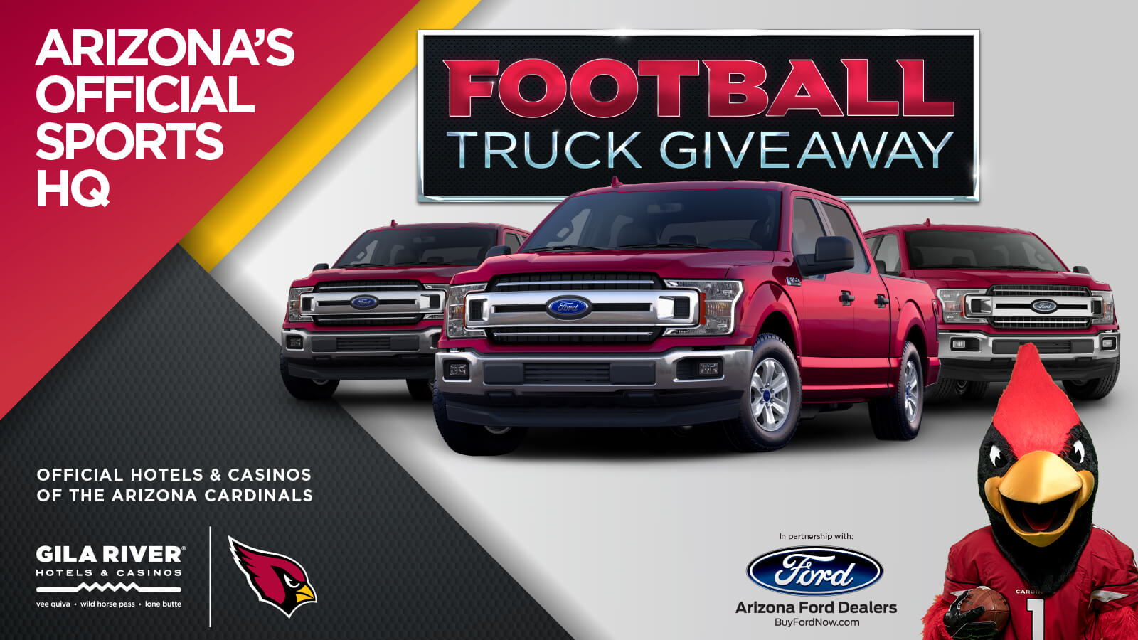 Football Truck Giveaway