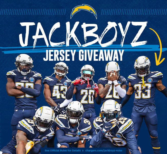 JackBoyz Jersey Giveaway