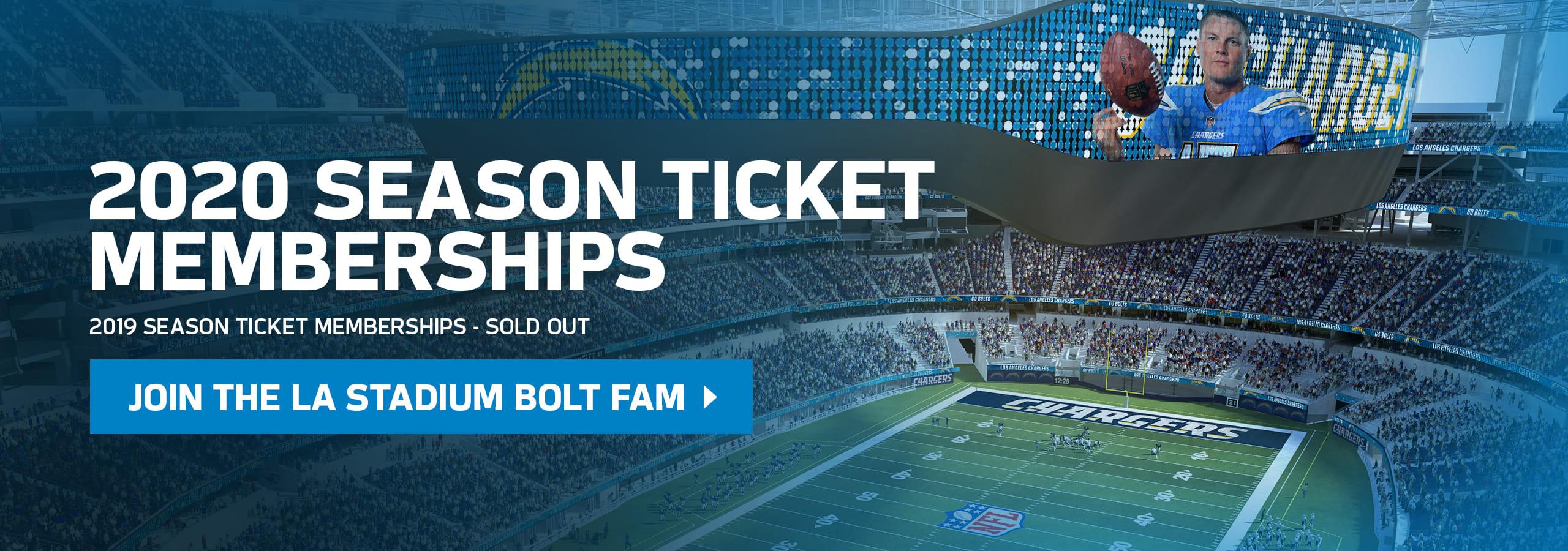 2020 Season Ticket Memberships: On Sale Now