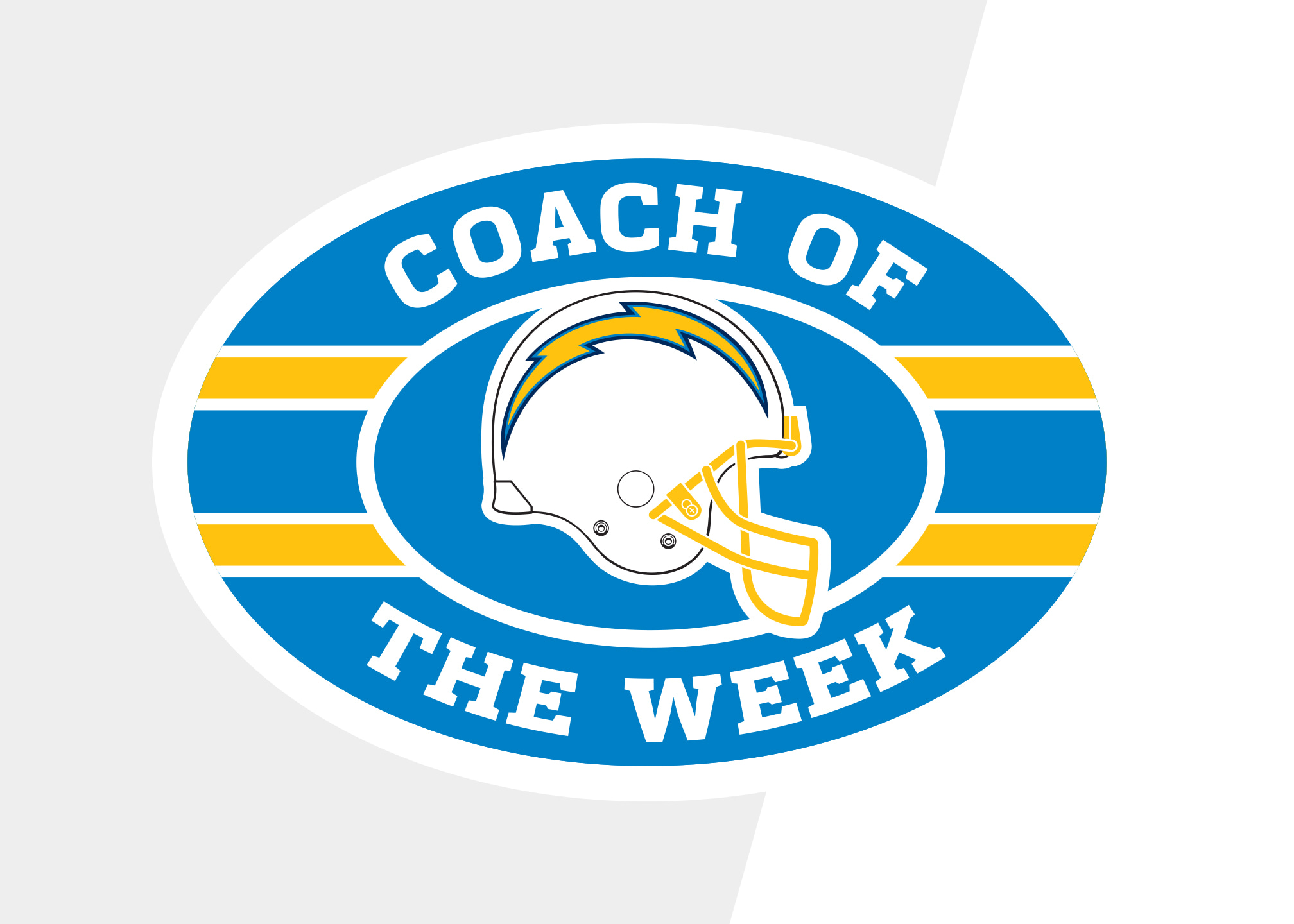 Los Angeles Chargers Coach of the Week