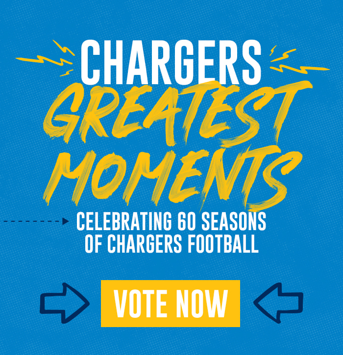 Chargers Greatest Moments