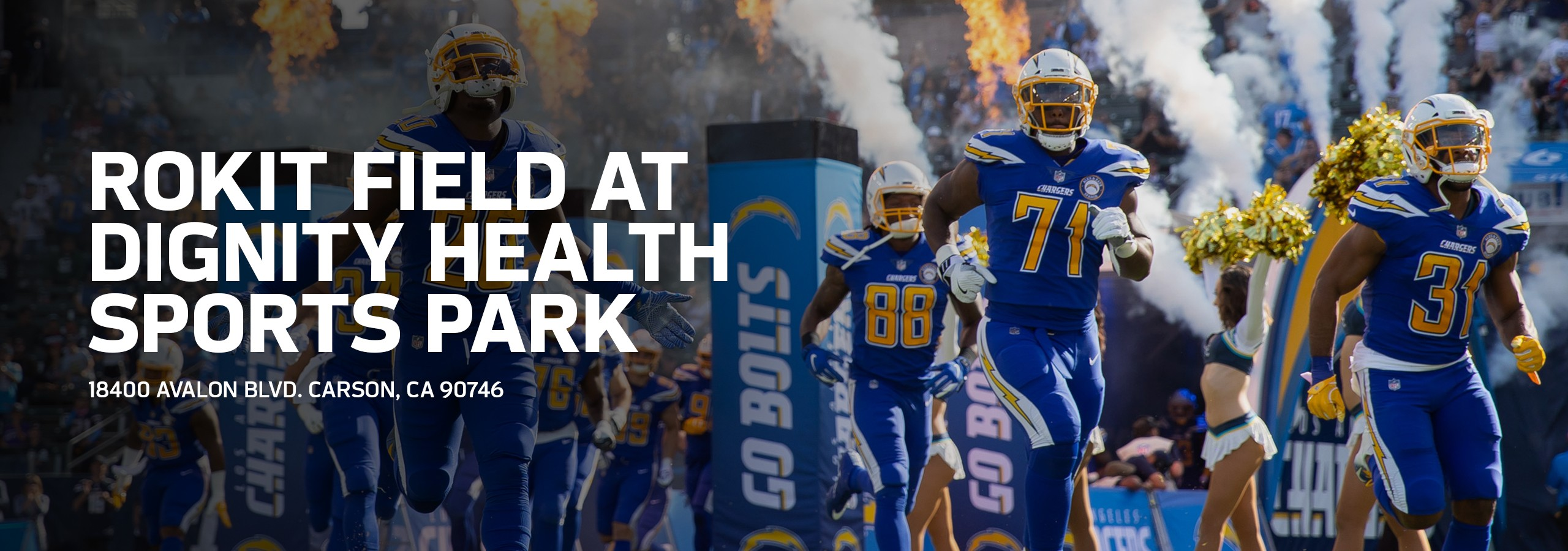 official photos eaca2 07b72 Chargers ROKiT Field at Dignity Health Sports Park | Los ...