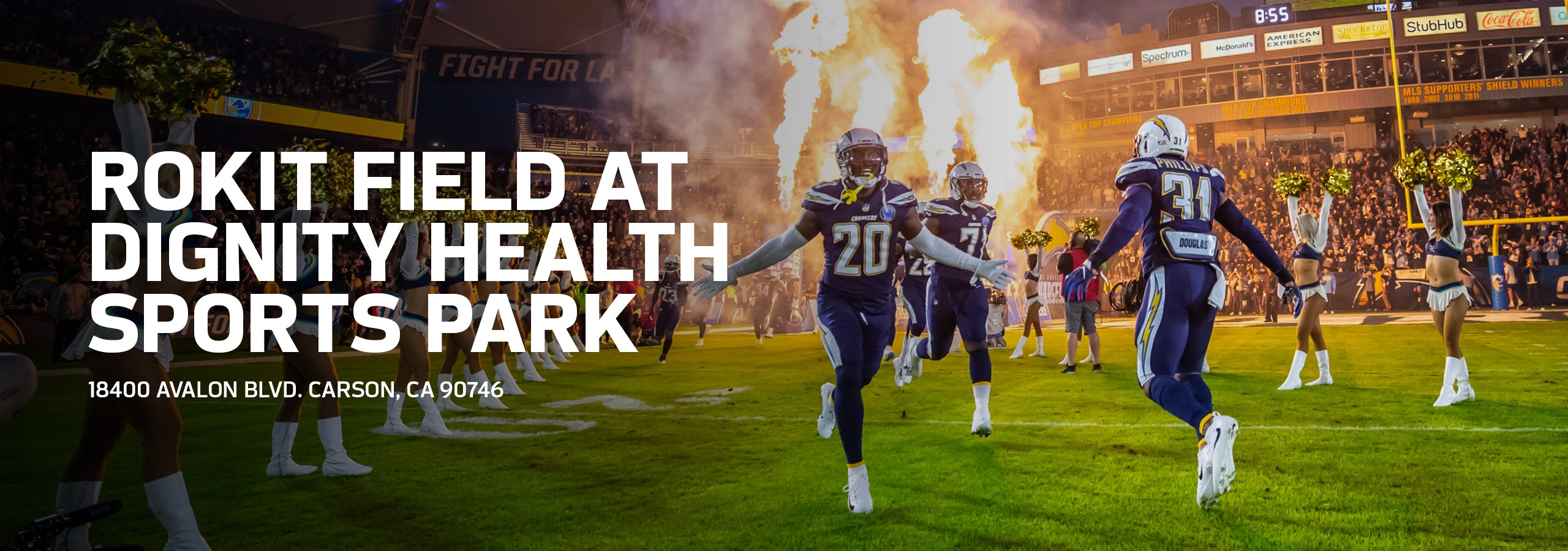 ROKiT Field at Dignity Health Sports Park | Los Angeles Chargers